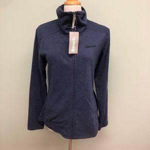 Bench Women's    Zip Up Sweater   Blue   Small